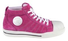 Pink Bright and Safe Redbrick Safety Sneakers and Trainers for Women at Work