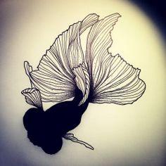 Black Fish 2.0! #fish #fishtattoo #poisson #tatouagedepoissons #tattoo…