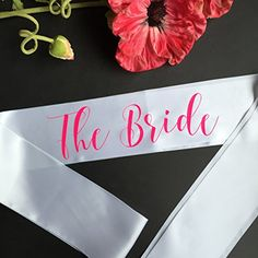 The Bride Bachelorette Party Sash White Rabbits Design https://www.amazon.com/dp/B01E60QA3A/ref=cm_sw_r_pi_dp_x_X9EkybRV1QBP3