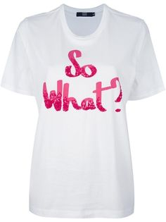 Markus Lupfer 'So What?' T-Shirt