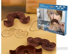 Mustache Cookie Cutters are a must have in my world.  They are great on shortbread because they keep the hair indentations.