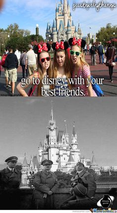 Go To Disneyland by avecafeleo - Meme Center