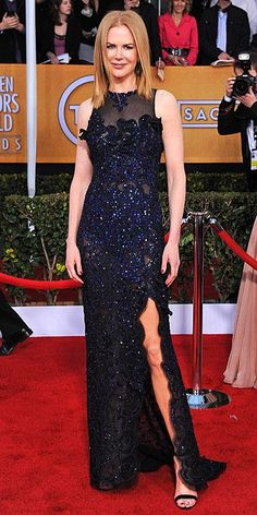 Nicole Kidman in Vivienne Westwood at the 2013 SAG Awards