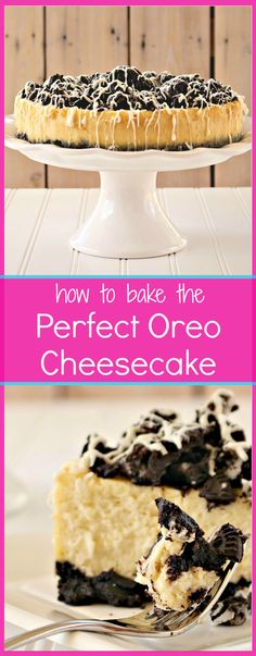... baking method, and tips you need to need for a cheesecake that wows