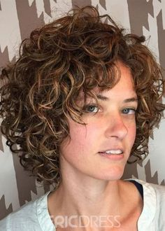 Short Curly Hairstyles For Women, Haircuts For Curly Hair, Bun Hairstyles, Curly Hair Styles, Natural Hair Styles, Hairstyle Short, Stylish Hairstyles, Updo Hairstyle, Wedding Hairstyles