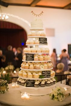 Cupcake Wedding Cakes ~ we ❤ this! moncheribridals.com More