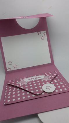 Schöne Papeterie: Flip Fold Karte und eine Anleitung Mehr