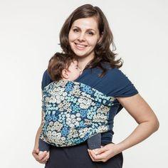 Liliputi® Stretchy Wrap Rainbow line - Daisy Young Baby, Woven Wrap, Baby Wraps, Baby Shop, Line, Floral Tops, Daisy, Rainbow, Stylish