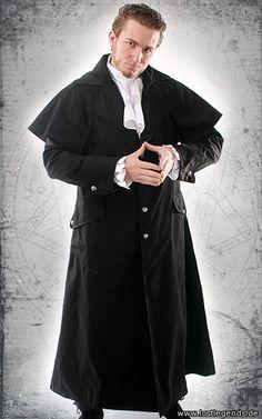 Dark Lord Kutschermantel Baumwolle