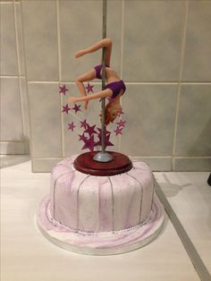 Pole dancer cake by Works of Heart bakery
