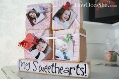 oh 2x4's!!!  Just for the record - I could Pin everything from the How Does She blog, so I would highlty recommend checking it out.  But, I love all the 2x4 projects - they make awesome gifts!!