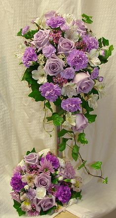 purple carnation wedding bouquet - Google Search