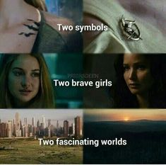 Divergent and The Hunger Games My two favorites <3