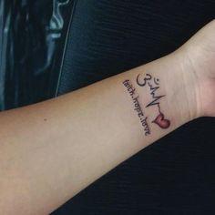 Love Wrist Tattoo, Wrist Tattoos For Guys, Tattoo Designs Wrist, Om Tatoo, Tatoos Men, Mini Tattoos, Small Tattoos, Small Couple Tattoos, Flower Tattoos