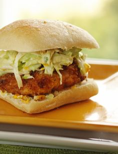 Copycat Donnie Mac's Fried Chicken Sandwich - from Donnie Macs Trailer Park Cuisine -in Boise, Idaho - Featured on Diners, Drive-Ins and Dives