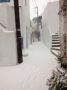TINOS ISLAND , GREECE (WINTER TIME)