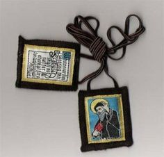 Brown Scapular - St. Sharbel by Rose Scapular. $5.97. St. Sharbel, also spelled Charbel, was a maronite preist who had a great personal devotion to the Blessed Sacrament, and was known to levitate during his prayers. Made of 100% wool with embroidered promise of Mary. Made of 100% wool with crucifix, St. Benedict Jubilee Medal, and accompanying prayers. Made in the USA.