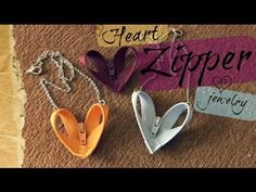 DIY Creative Upcycle- Create Charming Zipper Jewelry