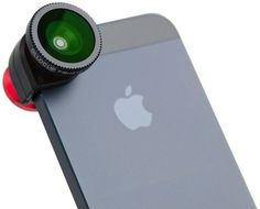 This lens system is designed for an iPhone 5/5S and includes a fisheye, wide angle and two different macro lenses to allow you to capture enhanced images and video. If walking around with your iPhone and your Apple logo hanging out the back isn't enough you can look even more techy and in with the …