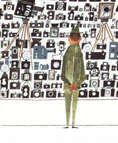 Illustration by Miroslav Sasek, 1960s.
