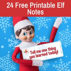 Printable elf notes   Elf on the Shelf notes   Printable elf ideas Elf Ideas Easy, Awesome Elf On The Shelf Ideas, Xmas Ideas, Christmas Note, Christmas Stuff, Christmas Party Games, Christmas Treats, Elf On Shelf Notes, Printable Cards