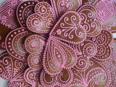 Valentinské perníčky a preclíčky