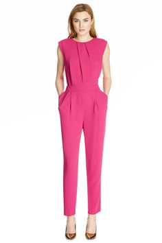 Discover new season clothes and accessories at Warehouse. Shop the latest style and trends across women's and men's fashion now. Jumpsuit Elegante, Pink Jumpsuit, Jumpsuit Outfit, Casual Jumpsuit, Fashion Now, Latest Fashion Clothes, Everyday Fashion, Womens Fashion, Jumpsuit Pattern