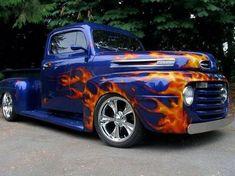 Old Ford Trucks, Classic Chevy Trucks, Pickup Trucks, Classic Cars, Chevy Classic, Hot Rod Trucks, Cool Trucks, Big Trucks, Cool Cars