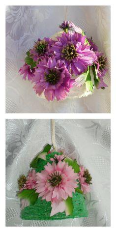 campane con fiori
