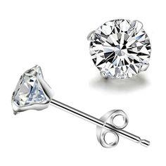 New cristal blanc Zircon boucles d'oreilles canal Brinco cercle ronde boucles d'oreilles pour femmes argent plaqué boucles d'oreilles mode bijoux