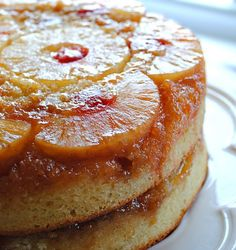 My FAVORITE - Pineapple Upside Down Cake.