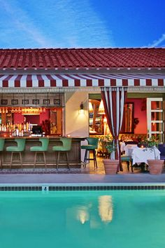 Kick back at the Colony Palms bar – a1930s speakeasy reincarnation  that later became a Rat Pack hangout. Colony Palms Hotel (Palm Springs, California) - Jetsetter