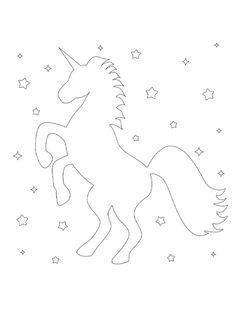 Unicorn silhouette coloring page Emoji Coloring Pages, Birthday Coloring Pages, Mermaid Coloring Pages, Cool Coloring Pages, Mandala Coloring Pages, Free Printable Coloring Sheets, Coloring Sheets For Kids, Unicorn Printables, Free Printables