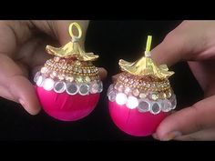 DIY: Adorable tassels/latkan (लटकन) for your Indian wears - YouTube