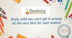 The Karnataka #SSLC Exam starts tomorrow.  Deeksha wishes every single student good luck for the exams.🤝👍✌️