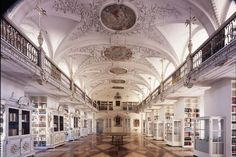 Library in Salem Monastery and Palace, Germany