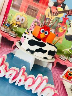 Isabella's Farm birthday party | CatchMyParty.com