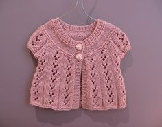 Ravelry: Design E - Lace Cardigan with Long or Short Sleeves pattern by Sirdar Spinning Ltd.