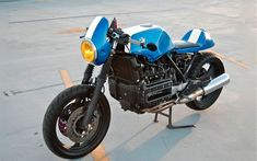 The blue Key | Inazuma café racer