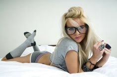 Hot Girls Wearing Glasses