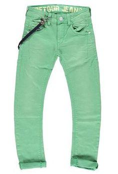 Retour  Denim De Luxe SS13 Pistachio Jeans