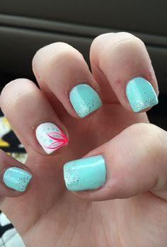 36 Summer acrylic nails ideas 2018