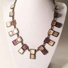 SKALLI PARIS Vintage Necklace Egyptian Revival Hand Made French Choker Collar