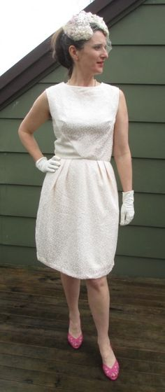 Mermaid's Purse latest #vintagepledge is SIMPLICITY 6220 – FROM A VINTAGE CURTAIN!!!