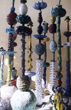 Interpreting Cultural Sources – Jenny Orchard: Ceramic Totems