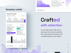 Charts UI kit. Dashboard templates design system on Behance