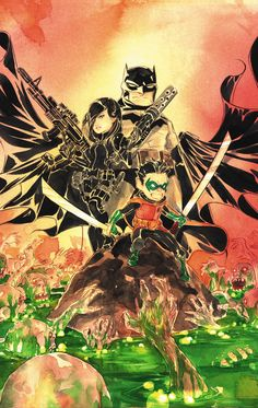 BATMAN: LI'L GOTHAM #11 Written by DEREK FRIDOLFS and DUSTIN NGUYEN Art and cover by DUSTIN NGUYEN On sale FEBRUARY 12 • 32 pg