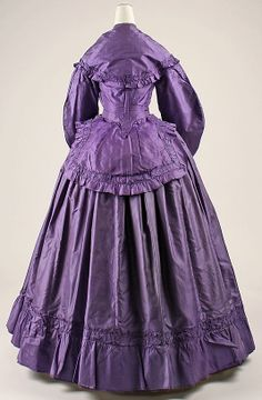 Dress late 1860s/ Love That Color