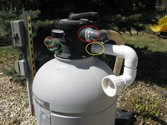 Deep Cleaning a Sand Filter | Trouble Free Pool Sand Filter For Pool, Pool Sand, Pool Pumps And Filters, Pool Filters, Pool Cleaning Tips, Deep Cleaning, Swimming Pool Maintenance, Diy Swimming Pool, Free Pool