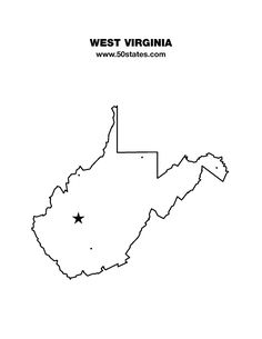 50 Best Blank Maps of US States images